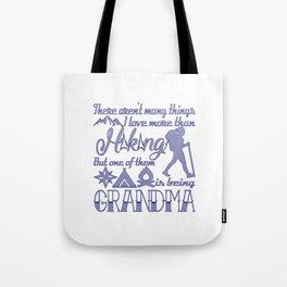 Hiking Grandma Tote Bag