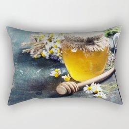Honey and Herbal tea Rectangular Pillow