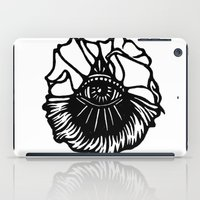 third eye iPad Cases featuring Third Eye by Cecile Psicheer