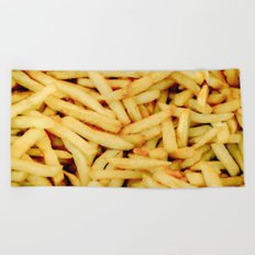 French Fries Beach Towel