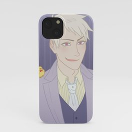 Purple booy iPhone Case