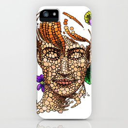 A Beautiful Ginger Boy and Nature iPhone Case