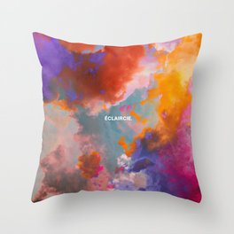 Eclaircie Throw Pillow