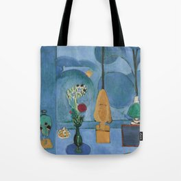 The Blue Window, Issy-les-Moulineaux, 1913 by Henri Matisse, Artwork Design, Poster Tshirt, Tee, Jer Tote Bag