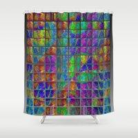 artpop Shower Curtains featuring ARTPOP #12 by Lachlan Willis