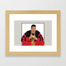It's Hovie Baby - 1988 - I will not lose Framed Art Print