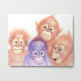 It's Good To Be Different Metal Print