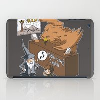 middle earth iPad Cases featuring Middle Earth Travels by souldroid