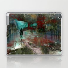 A city without you Laptop & iPad Skin