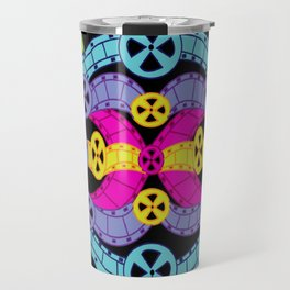 Neon Reels Travel Mug