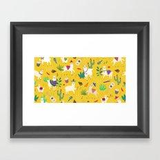 Alpacas & Maracas  Framed Art Print