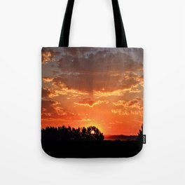 Idaho Sunset Tote Bag
