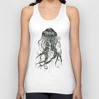 jellyfish Tank Tops featuring Jellyfish by Aubree Eisenwinter