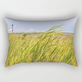 Lighthouse in the Distance Rectangular Pillow