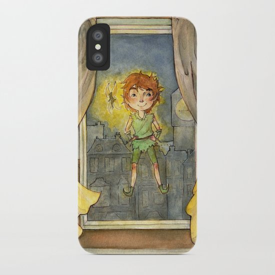 Peter Pan iPhone Case