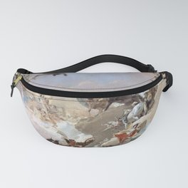 Giovanni Battista Tiepolo - Allegory of the Planets and Continents 1752 Fanny Pack