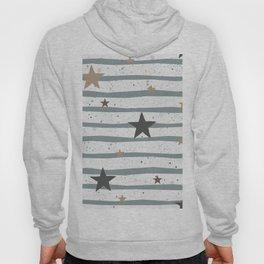 Cute Seamless Pattern with stars Hoody