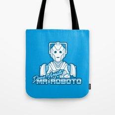 Domo Arigato Mr. Cyberman Tote Bag