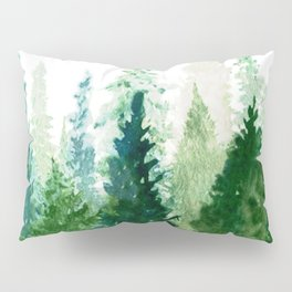 Pine Trees 2 Pillow Sham