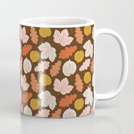 Foraged Leaves | Brown Coffee Mug