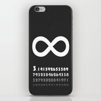 infinity iPhone & iPod Skins featuring Infinity by eARTh
