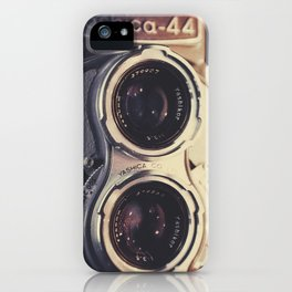 Yashica-44 TLR iPhone Case