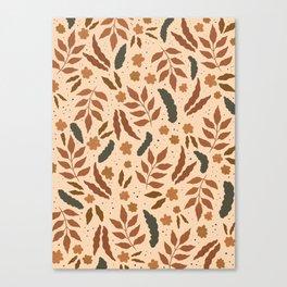 June Pattern Canvas Print