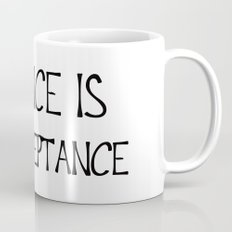 Silence is Acceptance Mug