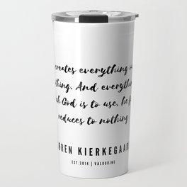 2 | Søren Kierkegaard Quotes | 190523 Travel Mug