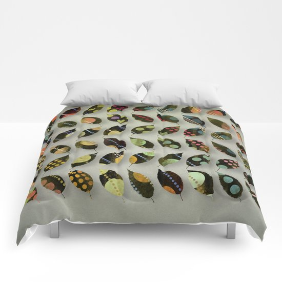 Pop Leaves Comforters