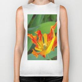 Fiery Tulips Biker Tank