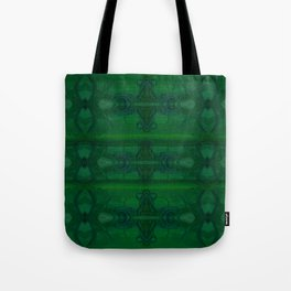 Patterns II Green Tote Bag