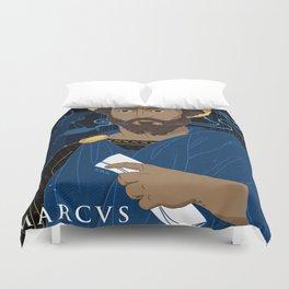 Marcus Aurelius Duvet Cover