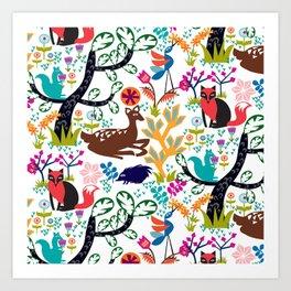 Forest Fairytale Art Print