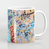 detroit Mugs featuring DETROIT GRAFFITI by Brittany Gonte