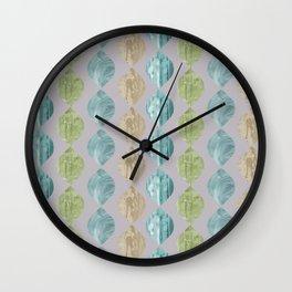 Ovoid Citrus Wall Clock