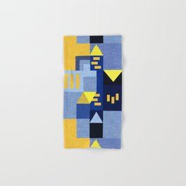 Blue Klee houses Hand & Bath Towel