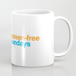 Screen Free Sundays Coffee Mug