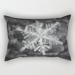 Snowflake on fuzzy sweater Rectangular Pillow