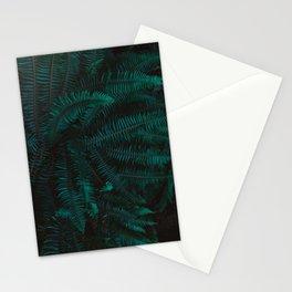 Blue Fern Twilight Stationery Cards