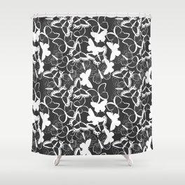 Butterfly pattern 011 Shower Curtain