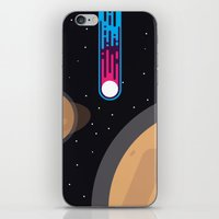 wwe iPhone & iPod Skins featuring Meteor by eARTh