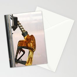 Gas Station Stationery Cards
