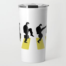 Ministry of Silly Walk Travel Mug