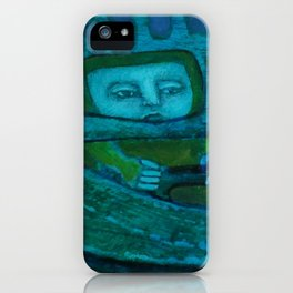 Hovercraft Driver iPhone Case