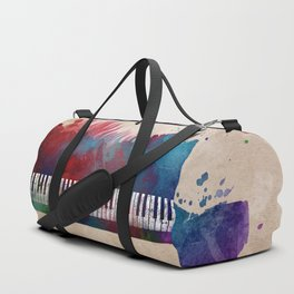 keyboard art #keyboard #piano Duffle Bag