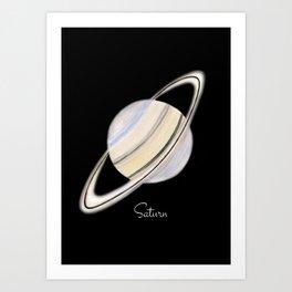 Saturn #2 Art Print