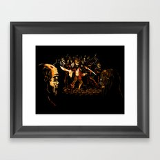 The Last Stand! Framed Art Print