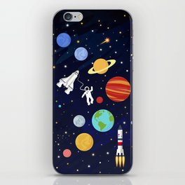 In space iPhone Skin