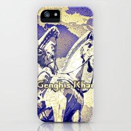 Spirit of the Great Gobi Desert - Genghis Khan iPhone Case